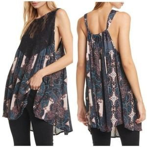 Intimately Free People Count Me In Trapeze Top